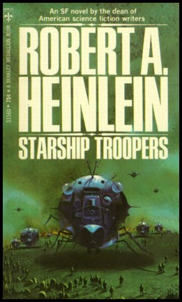 Capa do livro com uma das naves insetóides