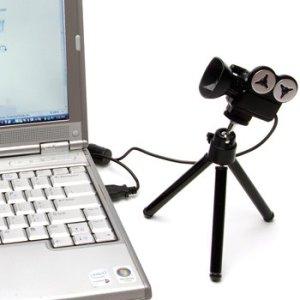 Uma das mais criativas! Uma câmera de cinema, bem legal quando usada para 'Gravar', hahaha